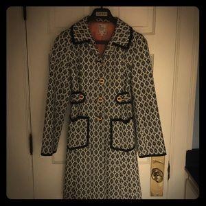 Nanette Lepore Black and White Coat